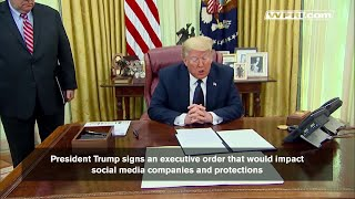 VIDEO NOW: President Trump signs executive order on social media
