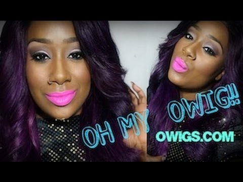 Deep Purple Eggplant Hair Review And Info On My Owigs