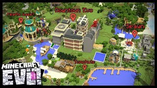 SERVER TOUR! - Minecraft Evo SMP #47