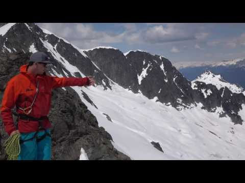 Rappeling Into A Ski Line - Ski Mountaineering Tips Ep.6
