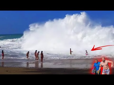 Saving Tourists From Massive Waves... Part 2