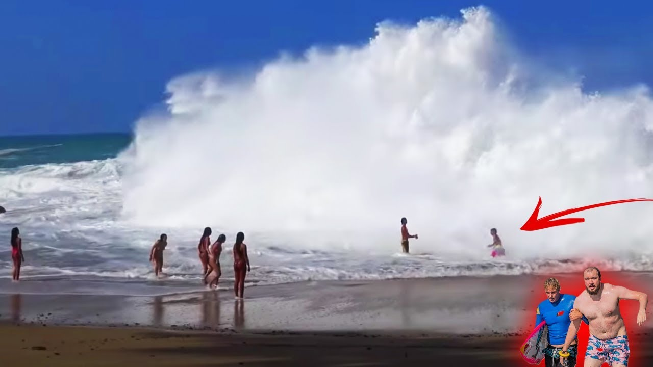 עם הים לא משחקים: הנה כמה תובנות בשילוב קטעי סרטונים על כוחם הרב של הגלים