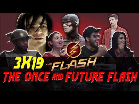 The Flash - 3x19 The Once and The Future Flash - Group Reaction + Discussion