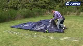 Outwell Nevada S Tent Pitching Video    Innovative Family Camping