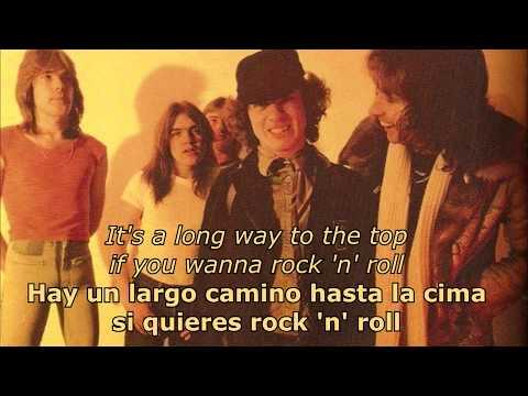 It's A Long Way To The Top (If You Wanna Rock 'N' Roll) (Español/Inglés) - AC/DC music