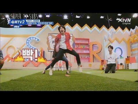 ENG Super TV S2  Super Junior x Red Velvet laughing ninja game!