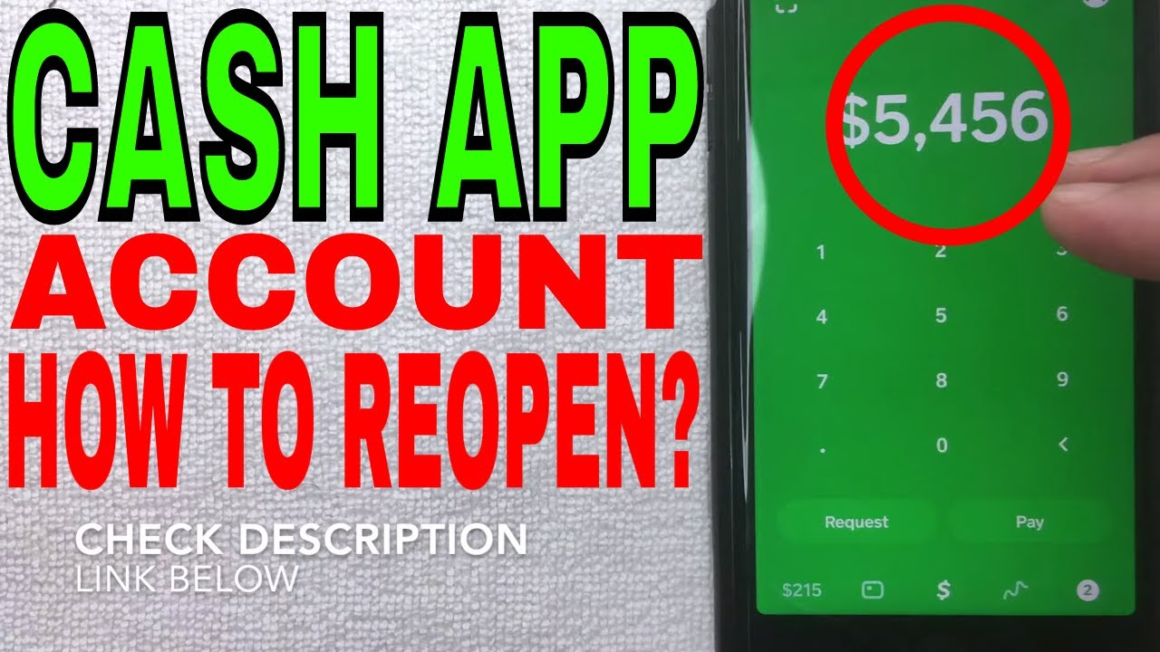 How To Reopen New Cash App After Permanently Closing Old Account Youtube