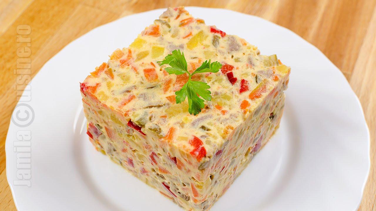 Salata de boeuf buna