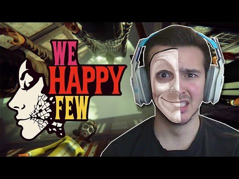 Put on your HAPPY FACE! | We Happy Few - Alpha - Part 1 (Xbox One)