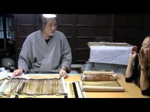 Living Artists of Japan: Gilding the Kimono - A Gold Leaf Artist