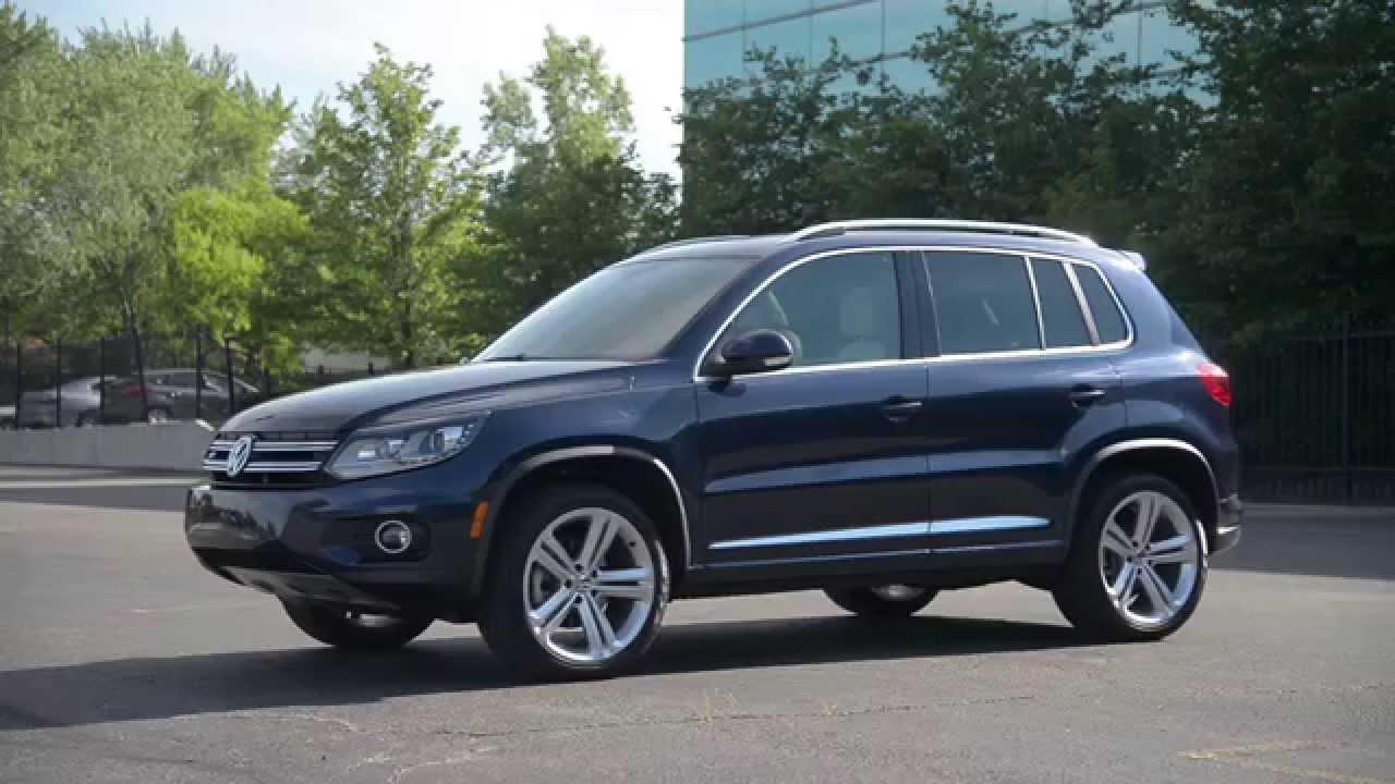 Volkswagen tiguan r line 2015