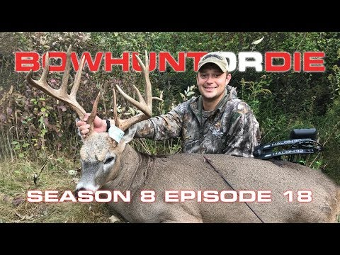 """Bowhunting Whitetails in Illinois 165"""" Buck - Bowhunt or Die Season 08 Episode 18"""