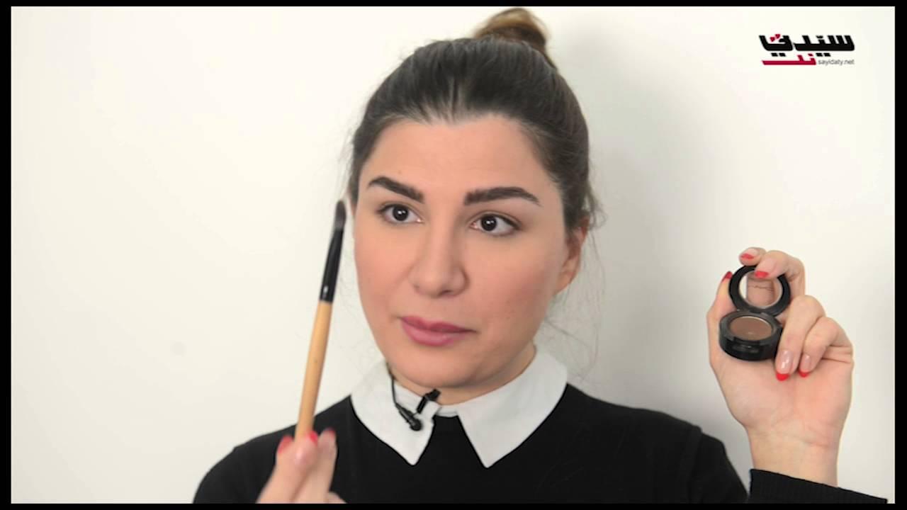 فيديو علاج الشعر الخفيف بالمكياج