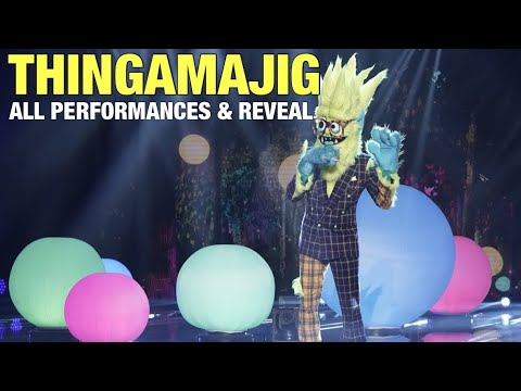 The Masked Singer Thingamajig: All Clues, Performances & Reveal