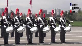 Glorias del Ejército 2015: Banda de Guerra e Instrumental, Escuela Militar