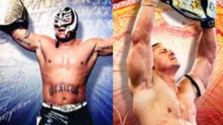 Rey Mysterio and John Cena Theme Mixed
