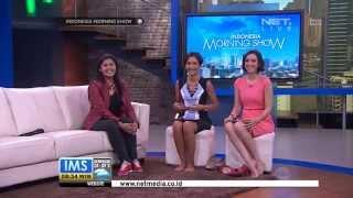 Namarina on NET TV's INDONESIA MORNING SHOW, Friday 21 March 2014