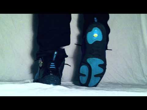 half off 2f212 b12bf Total Air Foamposite on feet