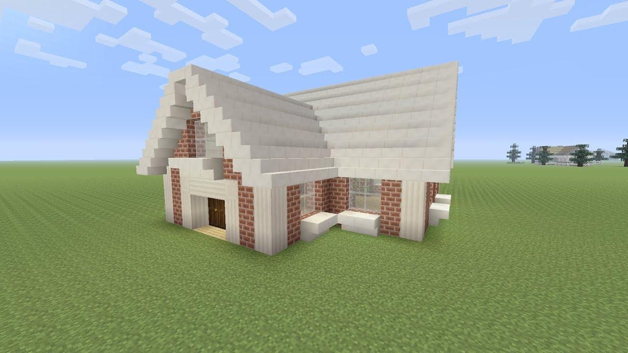 Minecraft een kleine moderne huis maken nederlands youtube for Huis maken minecraft