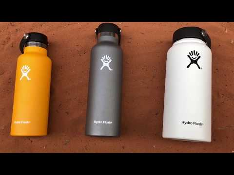 Hydro Flask! Is this the Best Water Bottle Ever?