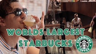 Getting Drunk At The World's Largest Starbucks | Whoa That's Weird