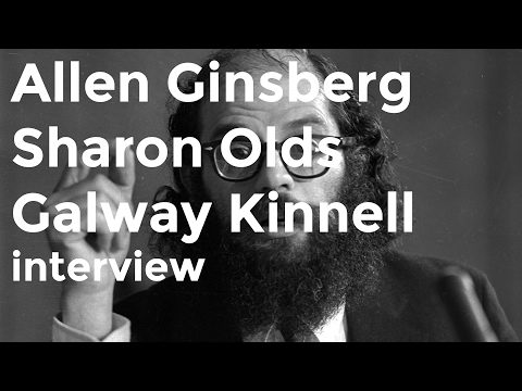Allen Ginsberg, Sharon Olds and Galway Kinnell discuss Walt Whitman on Charlie Rose (1992)