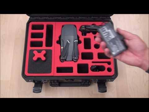 DJI Mavic Pro Case (Explorer Edition) Koffer by MC-CASES.com - 7 batteries, also DJI Bag fits!!!