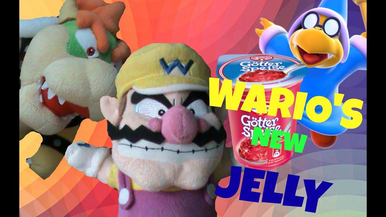 the super plush mario bros  wario's jelly  youtube