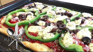 Easy Vegetable Pizza - Video Recipe