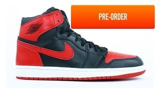 How To Solve Limited Nike /Jordan Release Sneaker Launches: Preorders