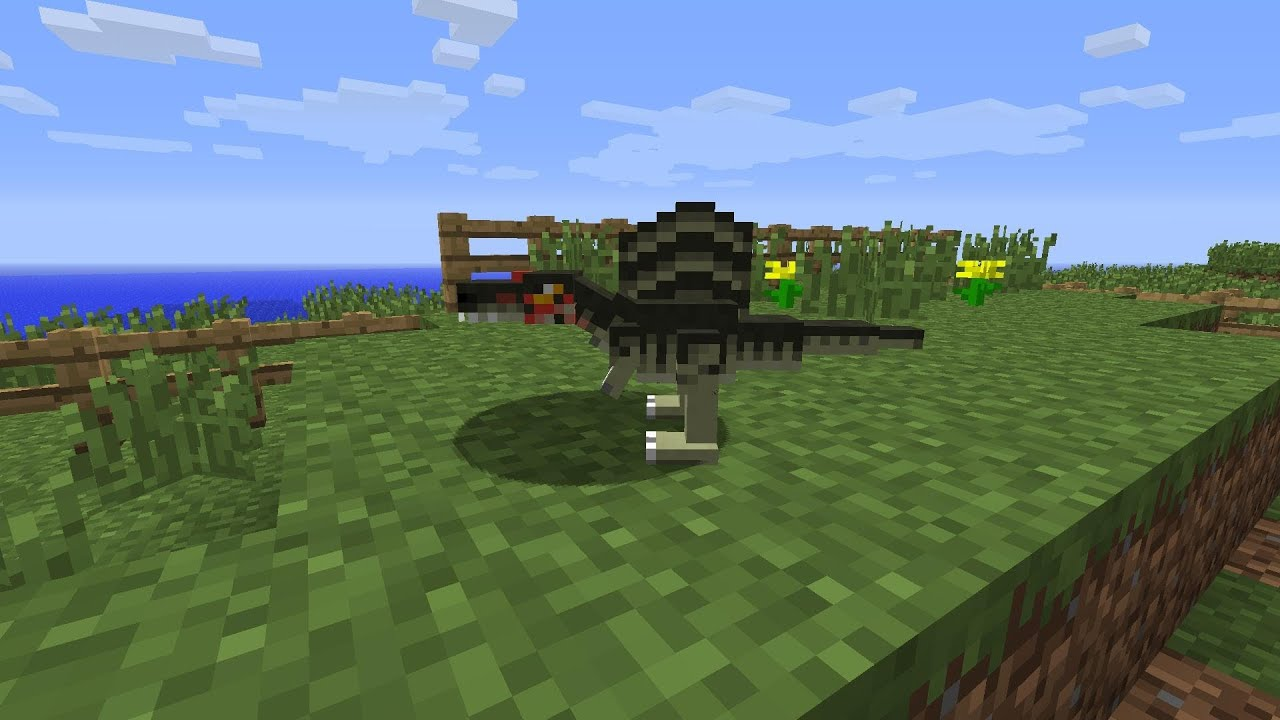 how to make a minecraft dinosaur skin