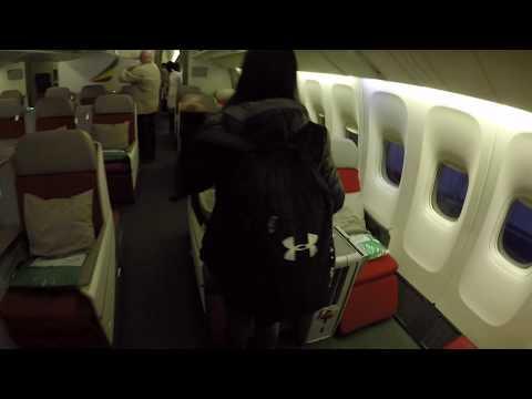 Ethiopian Airlines - Business Class Flug von Brüssel nach Wien