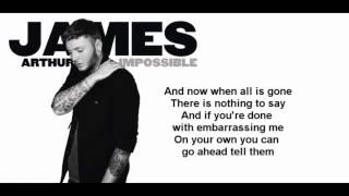 Baixar - James Arthur Impossible Official Lyrics Video Grátis
