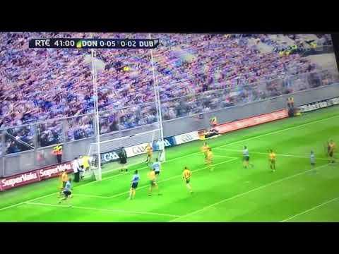 All Ireland Semi Final 2011 Dublin Scores Point 3 Stephen Cluxton