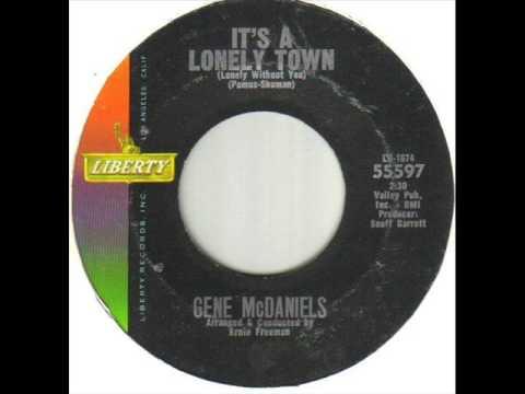Gene McDaniels It's A Lonely Town
