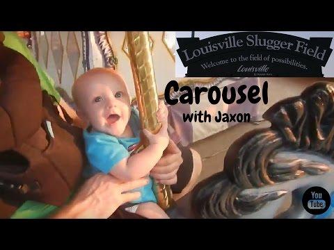 Louisville Slugger Field Carousel