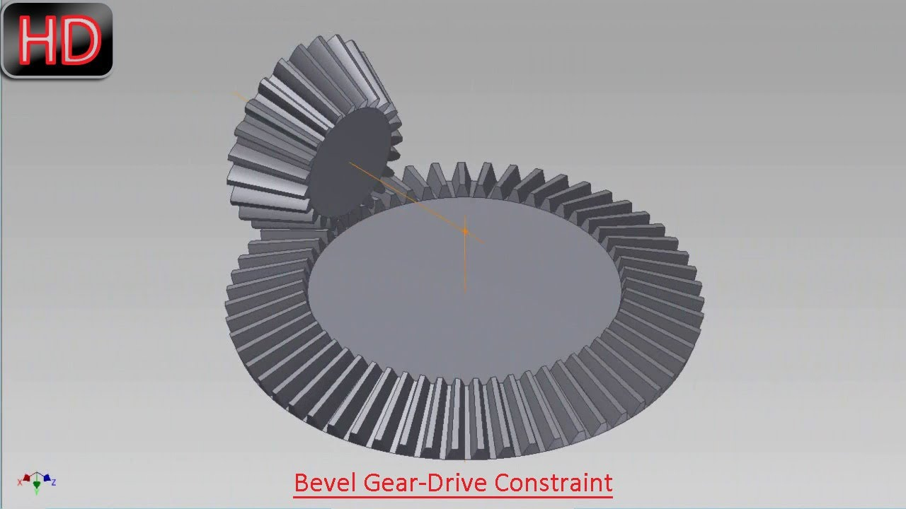 Bevel gear drive constraint video tutorial autodesk inventor bevel gear drive constraint video tutorial autodesk inventor youtube ccuart Image collections