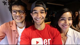 How to Crash a YouTube Party! (Ft. Erwan Heussaff + Michelle Dy + Creators Day)