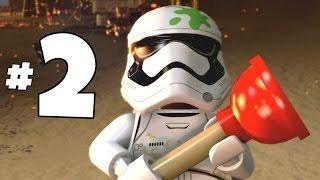LEGO STAR WARS THE FORCE AWAKENS GAMEPLAY PART 2