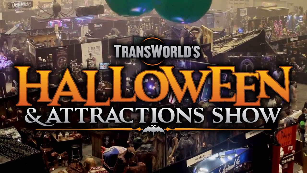 TransWorld's Halloween & Attractions Show - YouTube