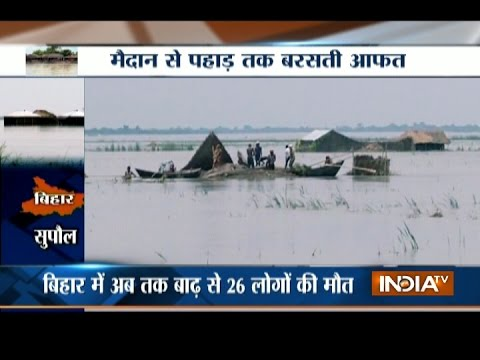 Flood Situation Worsens in Assam, Himachal and Uttarakhand