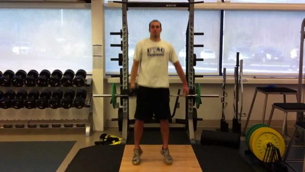 Single Arm Dumbbell Hang Clean And Press - YouTube
