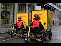 Dhl Express In City Hub Nordstan Using Velove Electric Cargo Bikes