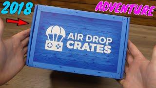 (SEPTEMBER 2018) AIR DROP CRATES - Unboxing [ADVENTURE CRATE]