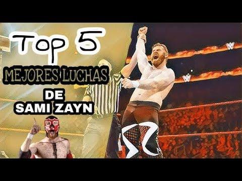 Las 5 Mejores Luchas de Sami Zayn