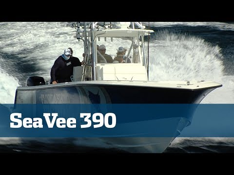 SeaVee Boats 390 Review A Must Watch For Interested Parties - Florida Sport Fishing TV