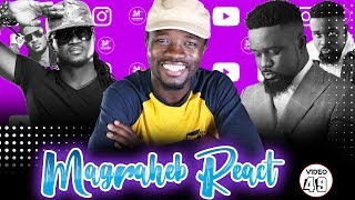 Magraheb Reacts to 'LUCKY' from SARKODIE & Rudeboy from (P-Square)