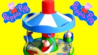 Peppa Pig Fairground Ride Amusement Park with Merry-go-round Tiovivo Nickelodeon by FunToys