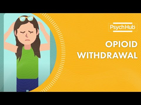Signs of Opioid Withdrawal