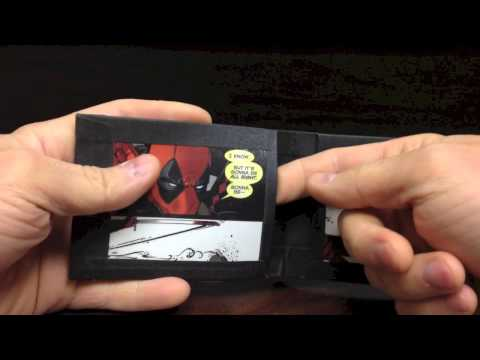 Comic book minimalist wallet!